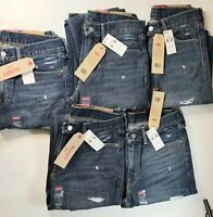 Levi's Men's  511 Slim Fit Ripped Blue Jeans #045112383~ Choose Your Size