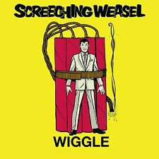 Screeching Weasel Wiggle Lp Yellow Vinyl Limited 500 Copies