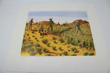 Charles Kemper Arizona Art Print 1867 Irrigation System 16x14""