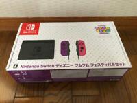 Nintendo Switch Disney Tsum Tsum Festival Joy-Con Dock Game console Mickey