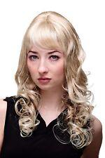 Perücke Traum engelhaft blond lockig Pony Neu&ovp