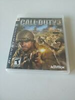Call of Duty 3  Gold Edition (Sony PlayStation 3, 2006) COMPLETE ACTIVISION PS3