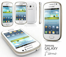 NEW SAMSUNG GALAXY FAME S6810  UNLOCKED ANDROID SMART PHONE  WHITE