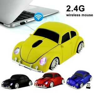 Wireless Bluetooth Style Car Model Mouse Gaming Mice USB 2.4GHz Laptop Computer