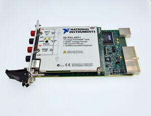 National Instruments NI PXI-4071 7½-Digit FlexDMM Digital Multimeter Module