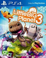 LittleBigPlanet 3 (Sony PlayStation 4, 2014) - Asian Version