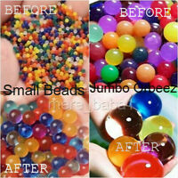 10000 beads + 100 Jumbo Orbeez Water Aqua Soil Crystal Bio Gel Jelly Beads UK