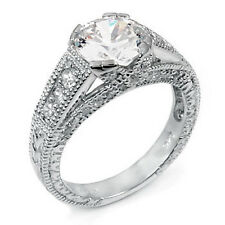 925 Sterling Silver Cubic Zirconia CZ Ladies Dress Ring Size 6, NEW