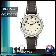 Timex Women'sBrown Leather Watch, Indiglo TW2P59500 - Free Post in AU