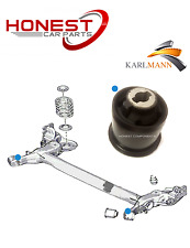 For PEUGEOT 307 2001> REAR AXLE SUSPENSION SUBFRAME BUSHES X1 By Karlmann New