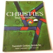 Christies - 20th Century British art 2001 AUCTION CATALOGUE  Joe Tilson, T Frost