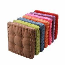 "15""/17""/19"" Floor Square Pillows Yoga Cushion Seat Mats Tatami Thick Meditation"