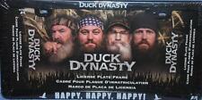 Duck Dynasty License Plate Frame Hey Jack Black Car Truck New Original