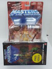 Masters of the Universe Teela 200X Sealed Figure Free VHS Video MOTU He Man