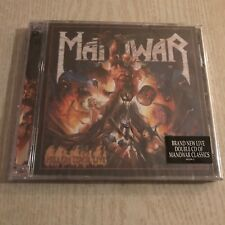 MANOWAR - Hell on Stage Live - original SEALED  2 CD