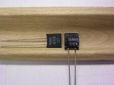 2 Vishay S102K 554.08 Ohms .4W .01% Bulk Metal Foil High Precision Resistors