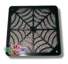 Evercool 120mm Plastic 2 Piece Spider Fan Grill Finger Guard & Filter + Screws!