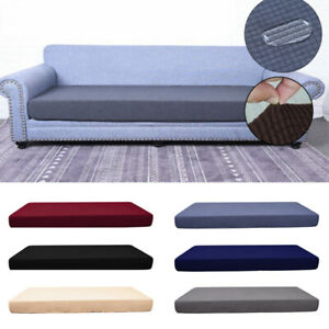 1-4Seats Slipcovers Protector Fabric Waterproof Cushion Cover Living Room