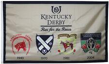Kentucky Derby Heritage Outdoor Indoor Room Decor College Banner Flag 3X5FT