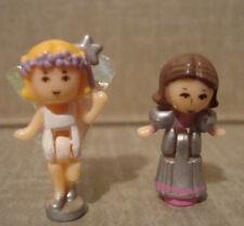 1993 Vintage Polly Pocket Fairylight Wonderland Fairy Figure Doll Lot Bluebird