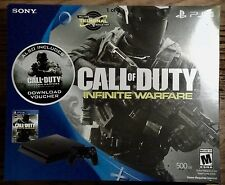 Playstation 4 500GB Console Call of Duty Infinite Warfare Bundle Factory Sealed!