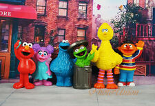 Sesame Street Muppets Abby Cadabby Elmo Big Bird Oscar the Grouch Ernie Figure