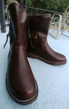 Women's brown leather Martin Boots 38/size 7