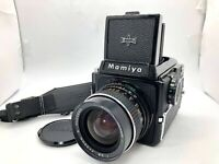 【Nr MINT】 Mamiya M645 Film Camera + Sekor C 55mm f2.8 + 120 Film Back From JAPAN