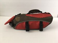Henry and Clemmies Doggy Dog Puppy Life Jacket Red Brown Small 15-24lbs Safety