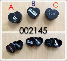音樂圖案心型鉛筆刨 Music keyboard, treble clef or music notes pattern small pecnil shaper  (piano violin 音符 文具 stationery gift musician classical )