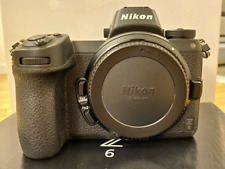 NIKON Z6 24.5MP MIRRORLESS CAMERA IN BOX, BARELY TOUCHED, & ABSOLUTELY MINT