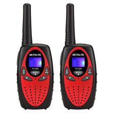 Mini Radio Walkie Talkies para niños Retevis RT-628 Pantalla LCD VOX 0.5W 8CH ES