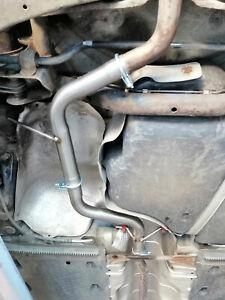 Audi A3 8P 1.4 TFSi Centre resonator mid silencer delete pipe deres pipe