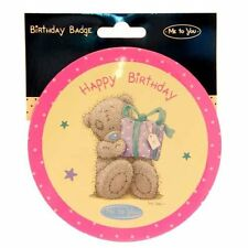 Me To You Bears Tatty Teddy Happy Birthday Large Party Badge