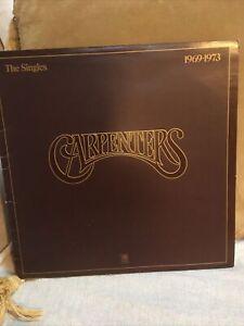 THE CARPENTERS - THE SINGLES 1969-1973 Gatefold Sleeve AMLH 63601