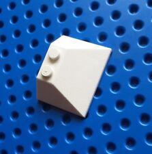 LEGO 4861 pente 45 3x4 Double/33. Blanc. De Sets 1682, 10198, 5974 etc