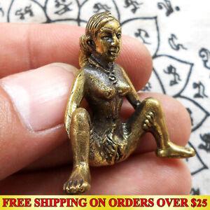 Thai Amulet E-Pher Woman Erotic Miniature Magic Holy Lucky Love Charm Talisman
