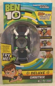 BEN 10 Electronic Deluxe Omnitrix Watch 100+ Phrases & Sounds Role Play 1st Edit