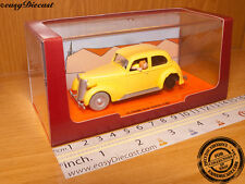 CRASHED CAR 1:43 TINTIN THE CRAB WITH GOLDEN CLAWS MINT