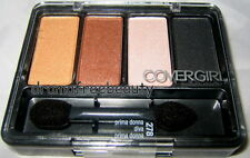Cover Girl Eye Enhancers Eyeshadow Quad 278 *PRIMA DONNA DIVA* Smokey Neutral BN