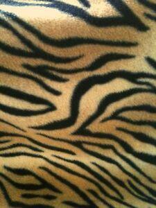 NEW Pet blanket BROWN TIGER Dog Cat puppy kitten Soft fleecebed 3 sizes Washable