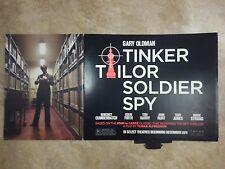 "2011 ""Tinker Tailor Soldier Spy"" Movie Theater Standee - 44"" x 22"" - Cumberbatch"