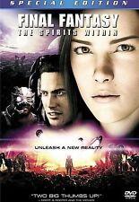 Final Fantasy: The Spirits Within (DVD)...Plex Hosting Streaming