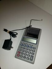 Genuine Casio (HR-8L) F-5/4-Cut Printing Calculator w/ Power Supply Included