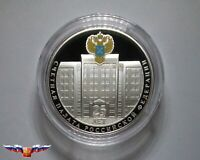 NEW Russia 3 rubles 2020 25th Anniversary of Accounts Chamber Silver 1 oz PROOF