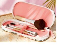 Yves Rocher TROPIC brush set case blush powder eyeliner brush lash / brow comb