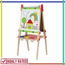 ART EASEL Wooden Drawing Writing with Paper Roll Accessories for Kids By HAPE