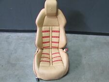 Ferrari F458 Italia, RH, Right Front Seat, Daytona, Beige/Red, Some Marks, Used