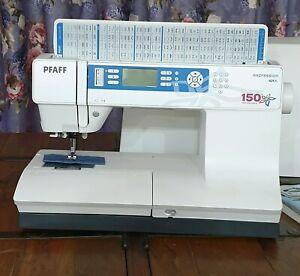 Pfaff Expression Anniversary Edition 150 Quilting  Sewing Machine