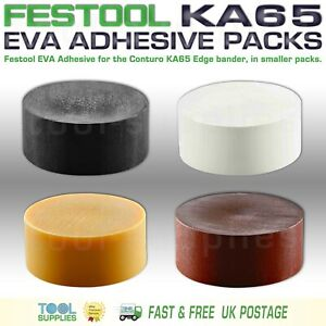 Festool Conturo EVA Glue Adhesive Natural Brown Black White, Smaller Packs, KA65